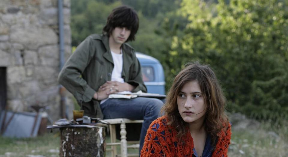 "Clément Métayer and Lola Créton star in ""Something in the Air,"" Olivier Assayas's memory play about 1971 France."
