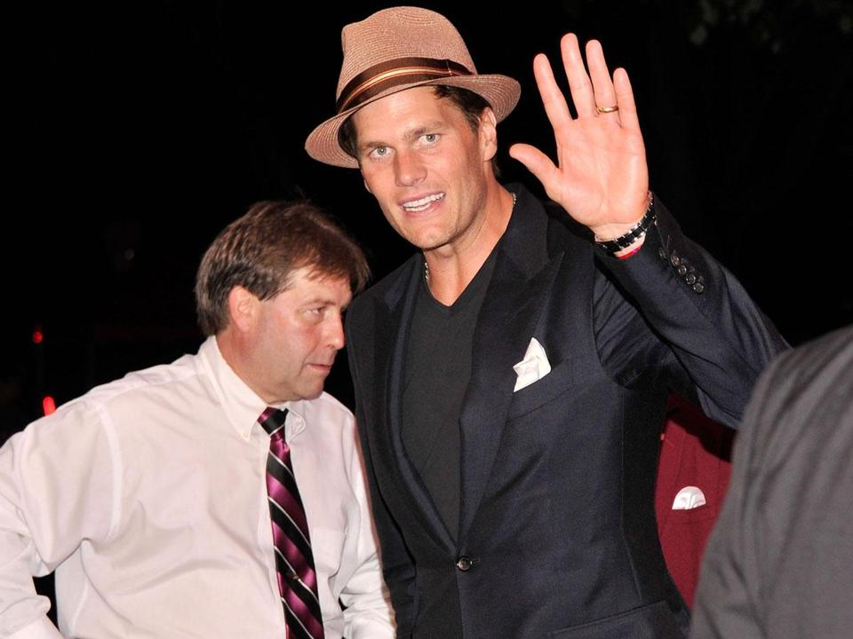 Tom Brady at the Barnstable-Brown Derby gala in Louisville, Ky.