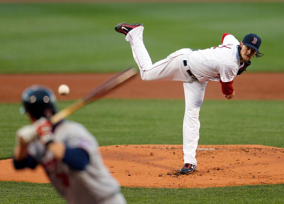 Clay Buchholz failed to earn the win for the first time in seven starts this year.