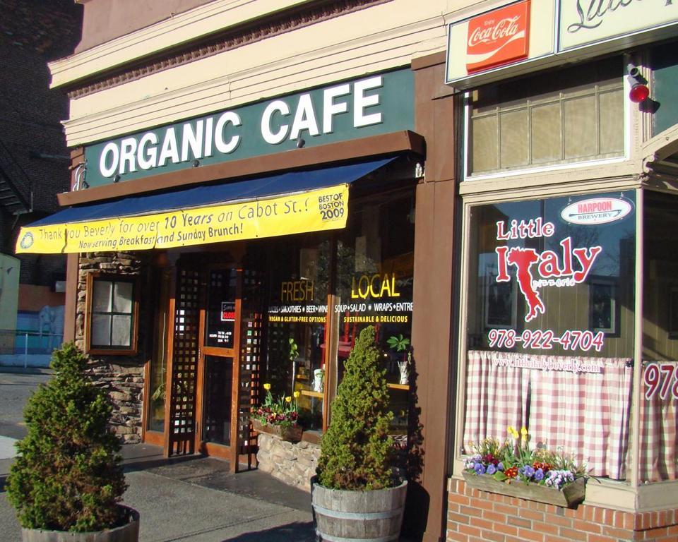 Organic Cafe Beverly Menu