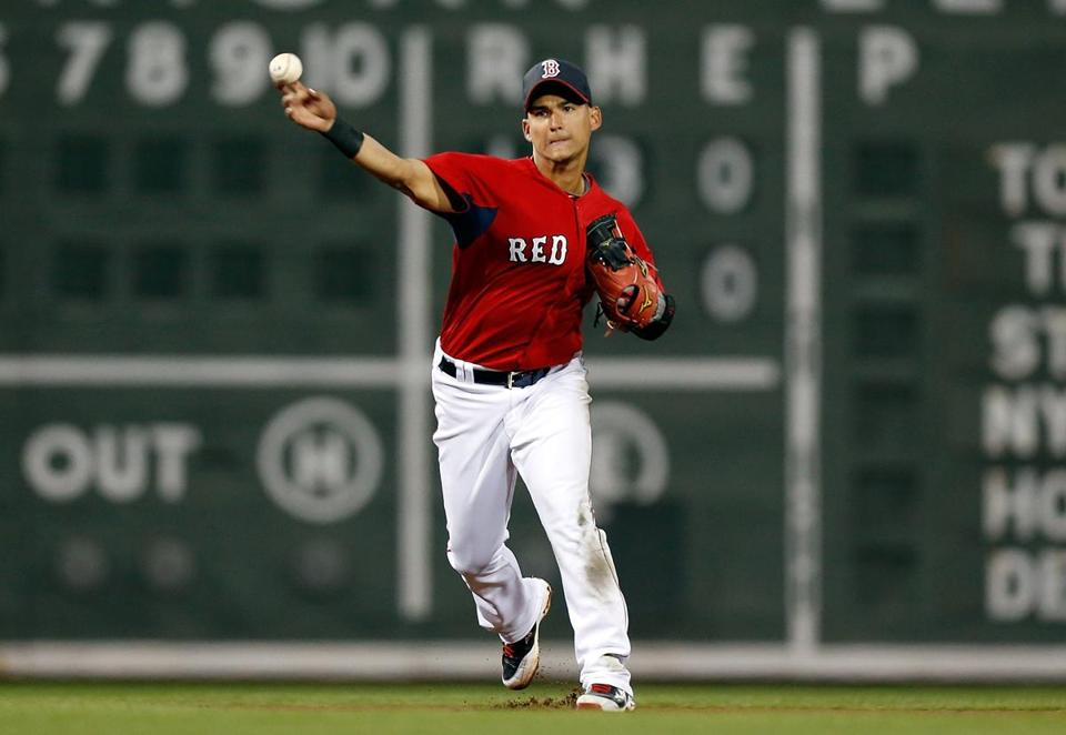 Jose Iglesias has been benched by the PawSox.