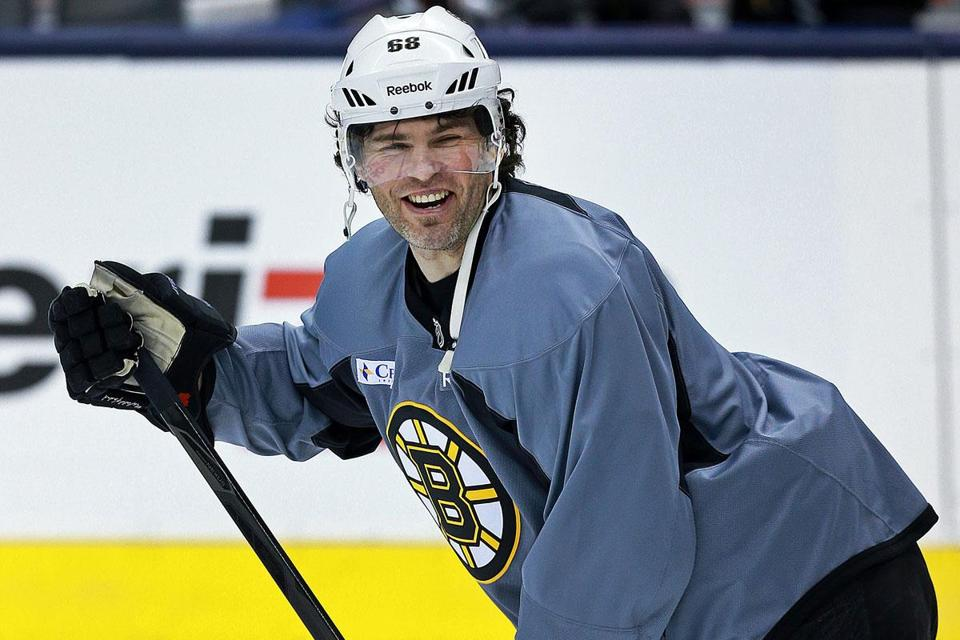 "Jaromir Jagr has soaked in the playoff atmosphere: ""It's something you have to enjoy. It's special."""