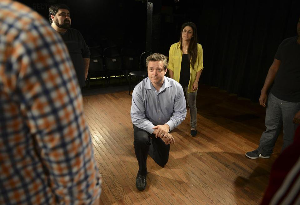 Improv Asylum cofounder Chet Harding's improvisational comedy techniques help corporate executives with their communication skills