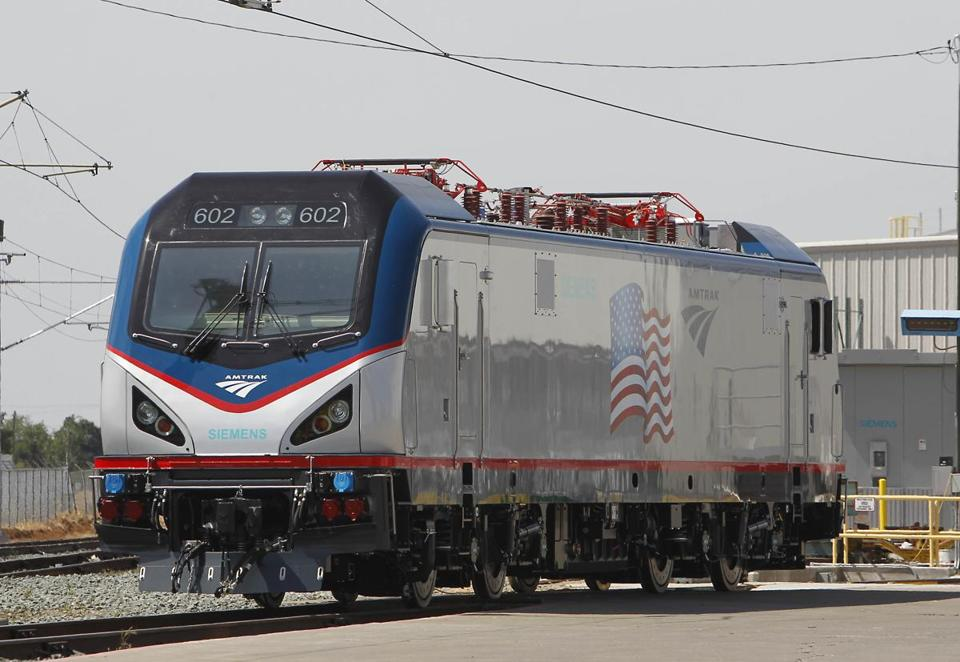 Amtrak Cities Sprinter locomotives, built by Siemens Rails Systems, will replace engines that have been in use for 20 to 30 years.