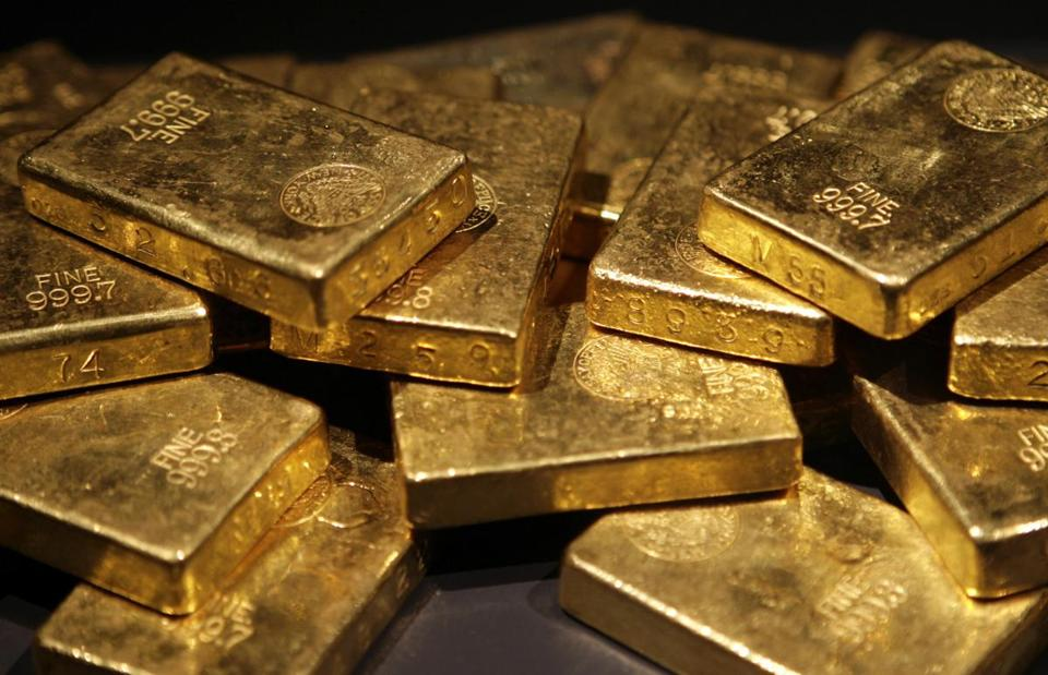Anxiety and gold rose in tandem, with the metal peaking at over $1,900 an ounce in 2011.