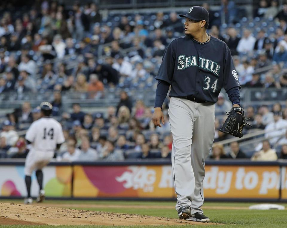 Once Felix Hernandez tweaked his back, the whole game took an odd twist.