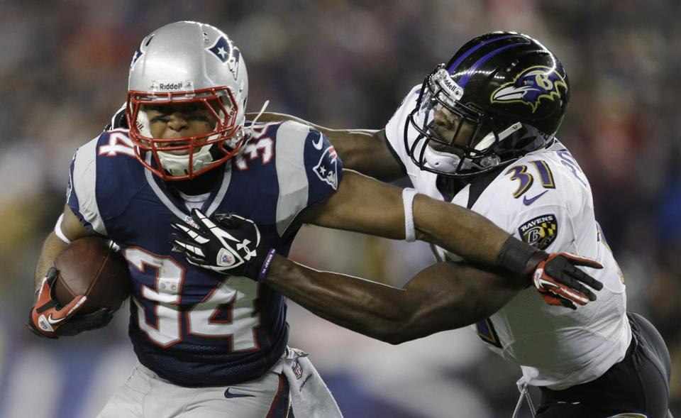The role of third-down back for the Patriots likely falls to Shane Vereen.