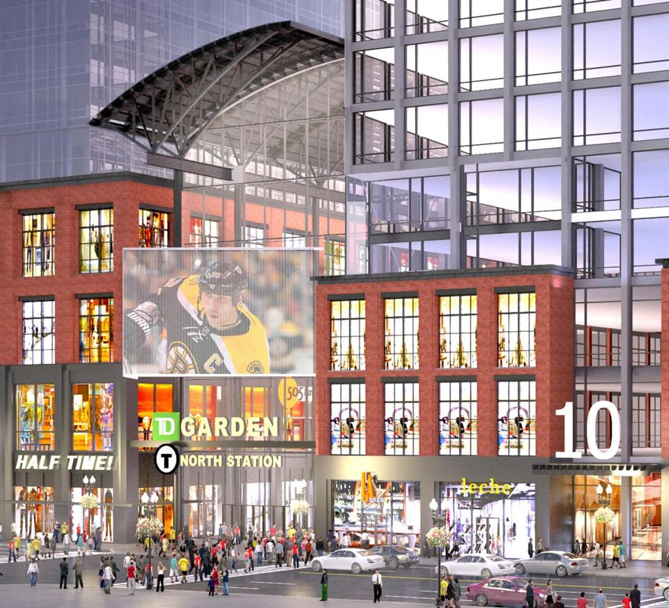 Towers proposed in front of TD Garden The Boston Globe