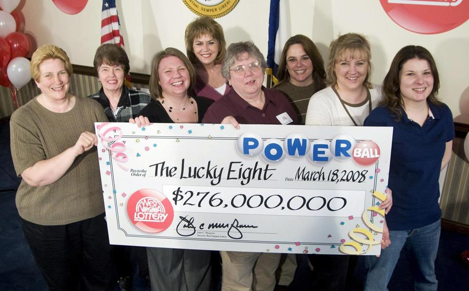 Eight co-workers in a West Virginia county tax office claimed their $276 million Powerball prize.