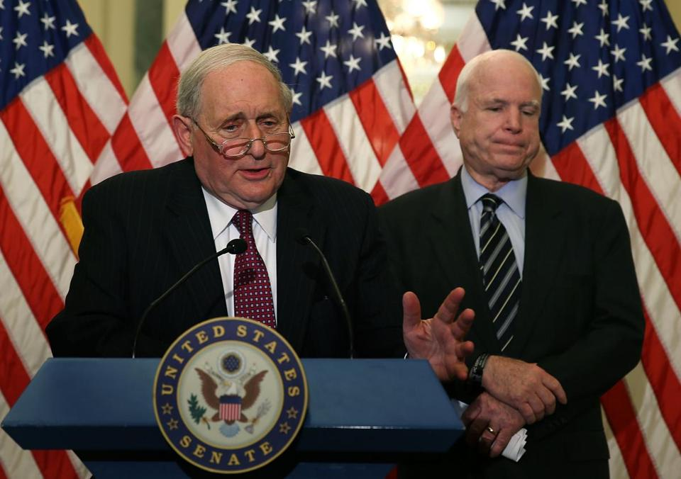 "Senator Carl Levin and other lawmakers said Apple's tactics were ""gimmicks"" and ""schemes."""
