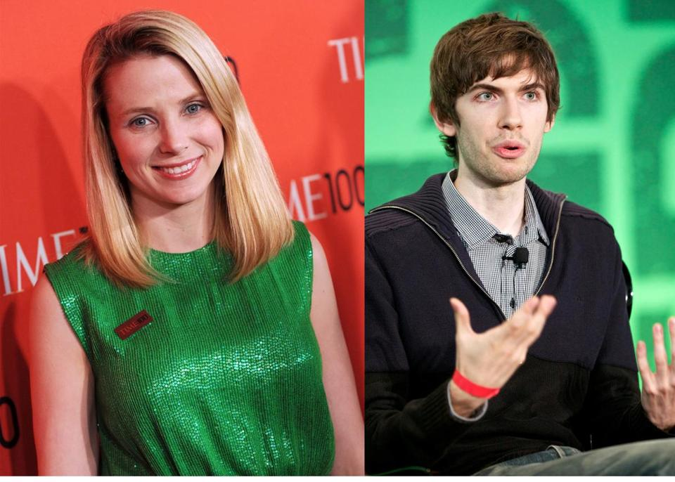 As part of her strategy to revive the brand and bring back younger users, Yahoo's chief executive, Marissa Mayer, began courting Tumblr founder and chief executive David Karp.