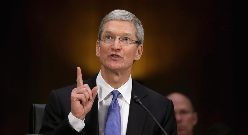 Apple CEO Tim Cook testified before the Senate Permanent Subcommittee on Investigations on Tuesday.
