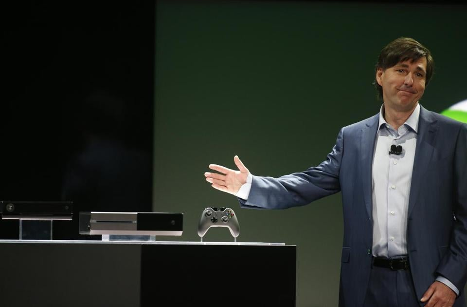 Don Mattrick of Microsoft revealed the Xbox One during a press event in Redmond, Wash