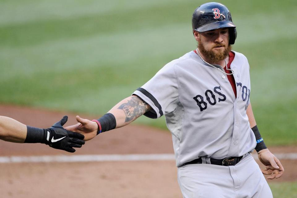 Jonny Gomes isn't particularly concerned about his .190 batting average through 33 games.