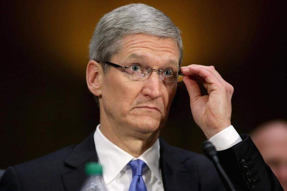 ''We pay all the taxes we owe — every single dollar,'' Apple CEO Timothy Cook said. ''We don't depend on tax gimmicks.''