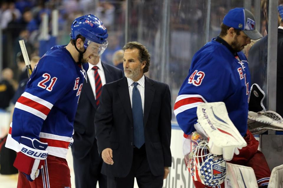 Coach John Tortorella and the Rangers are down, 3-0, in the best-of-seven Eastern Conference semifinal series.