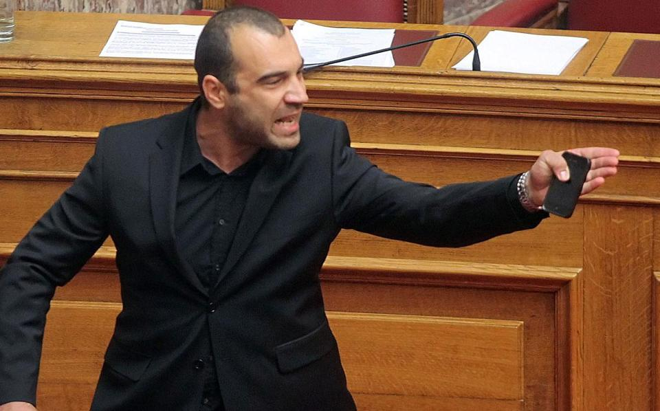 "Earlier this month, neo-Nazi lawmaker Panagiotis Iliopoulos was ejected from Greece's parliament while shouts of ""Heil Hitler"" were heard in the chamber, in a recent incident involving his far-right party."