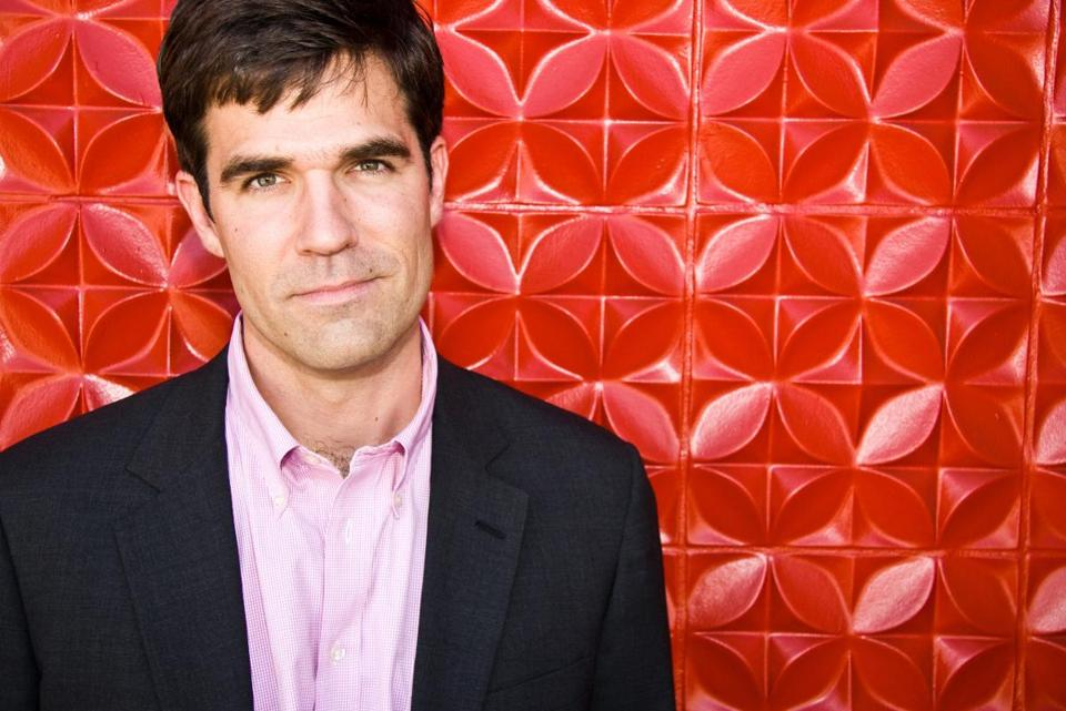 Rob Delaney tells his tales from the bottom with humor.