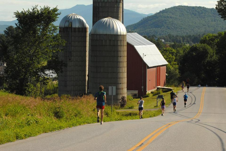 The Mad Marathon in Vermont.