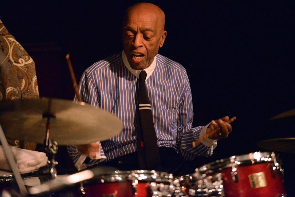 Jazz great Roy Haynes led his Fountain of Youth band through a rousing set at Scullers.