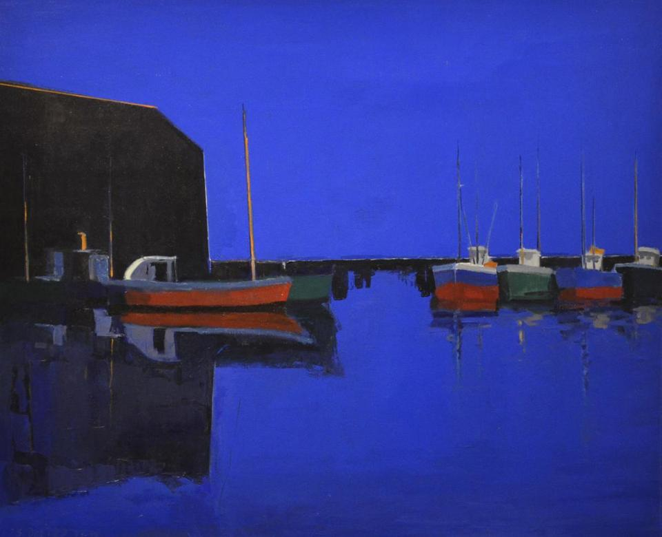 "Salvatore Del Deo's ""Big, Blue & Becalmed"" is at the Provincetown Museum at the base of Pilgrim Monument."