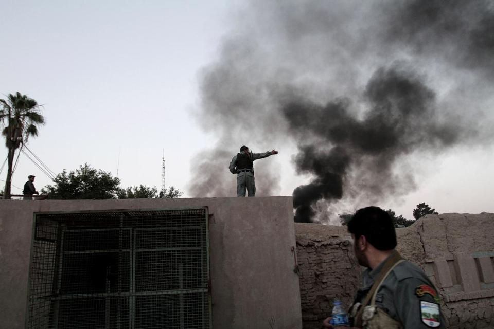 The attack on the Red Cross in Jalalabad was the second major assault on an international organization in five days.