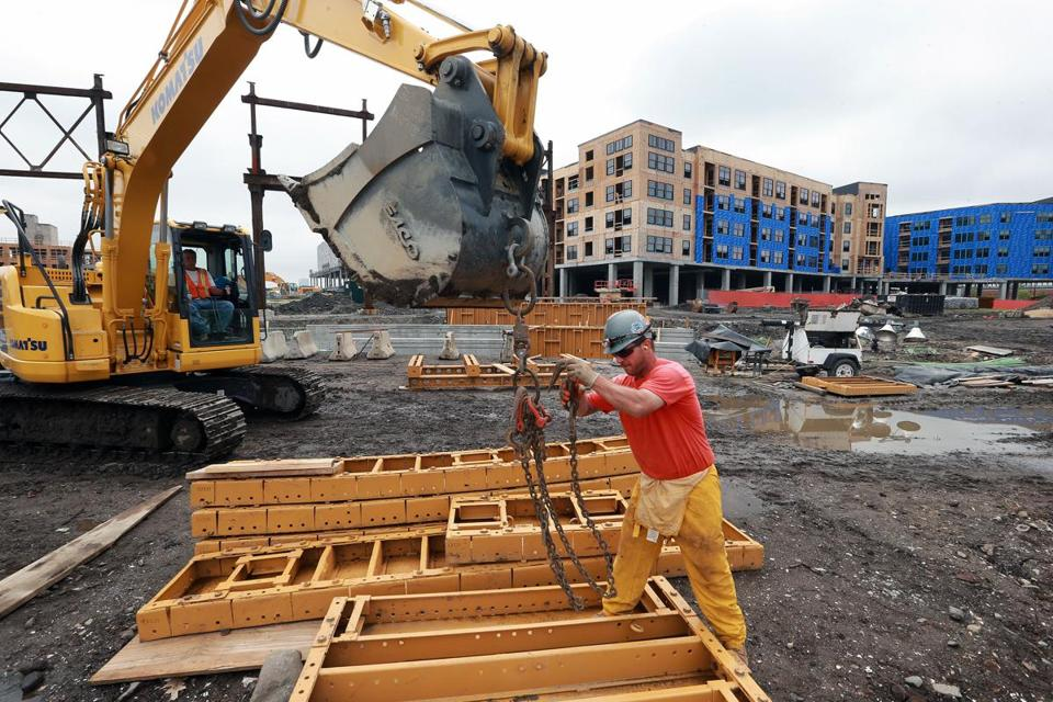 In Somerville, Mike DiBenedetto worked on construction of  the Assembly Row project near Assembly Square.