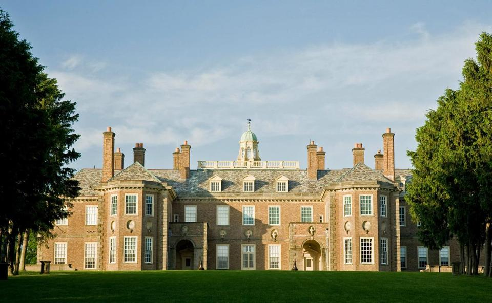 The Great House was inspired by 17th-century English country houses.