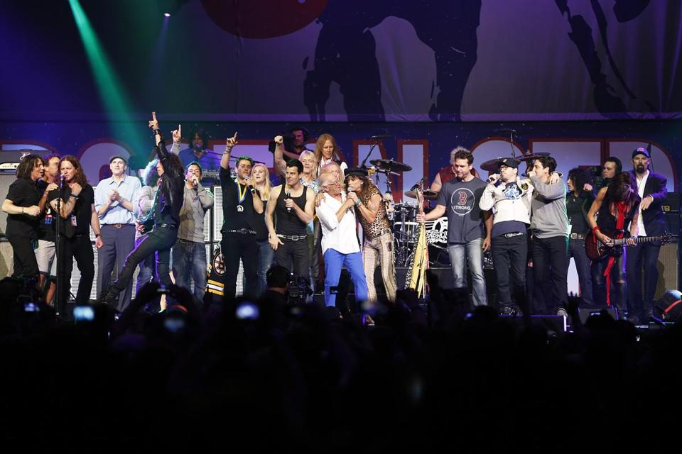 The One Fund concert was a once-in-a-lifetime collection of players in Boston's pop music scene. The event generated more than $2 million.