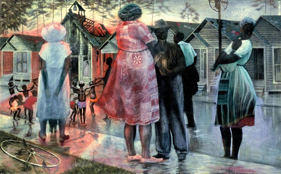 a26e469fb Peabody Essex Museum exhibit places visions by leading African ...