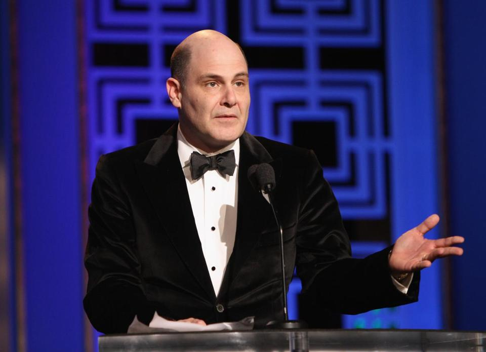 """Mad Men"" creator Matthew Weiner often explains  episodes after they are broadcast."