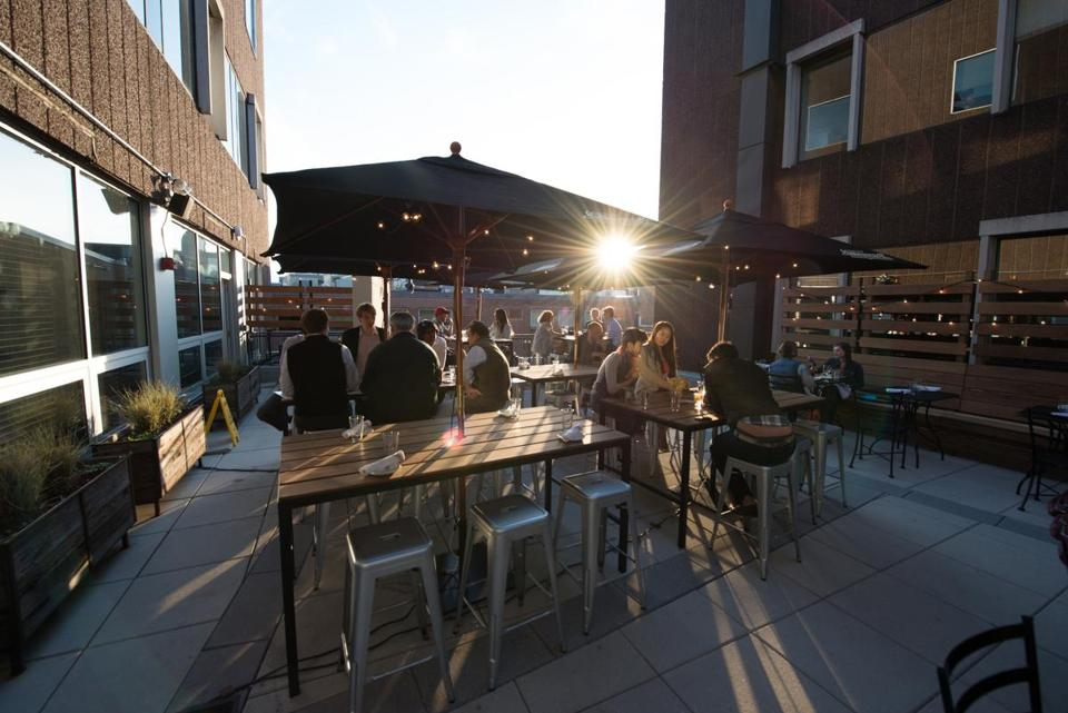 The Rooftop Patio At The Sinclair.