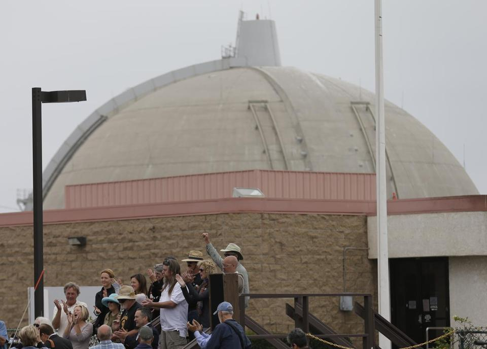 The San Onofre plant between San Diego and Los Angeles has closed. Of 119 US reactors, 20 are now being decommissioned and a half-dozen more are expected to close early.