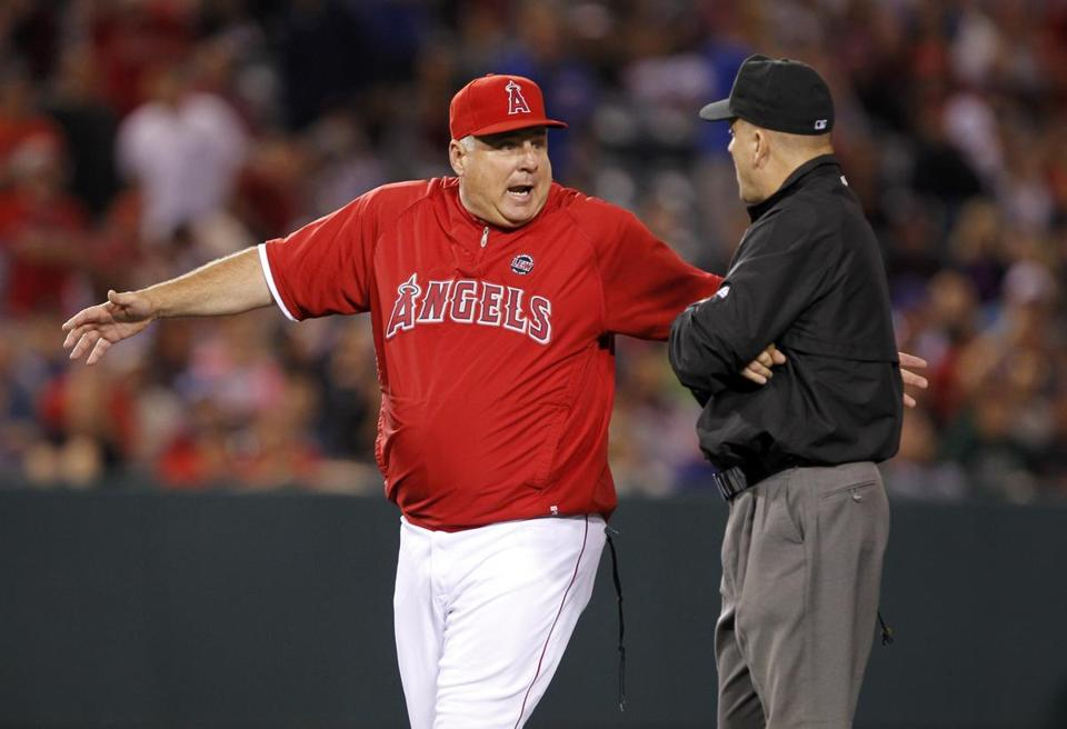 Mike Scioscia has been the Angels manager for 14 seasons.
