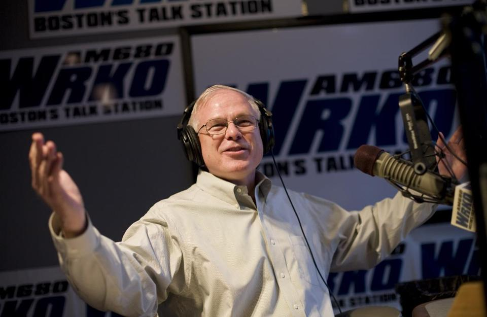 Howie Carr at WRKO in 2007.