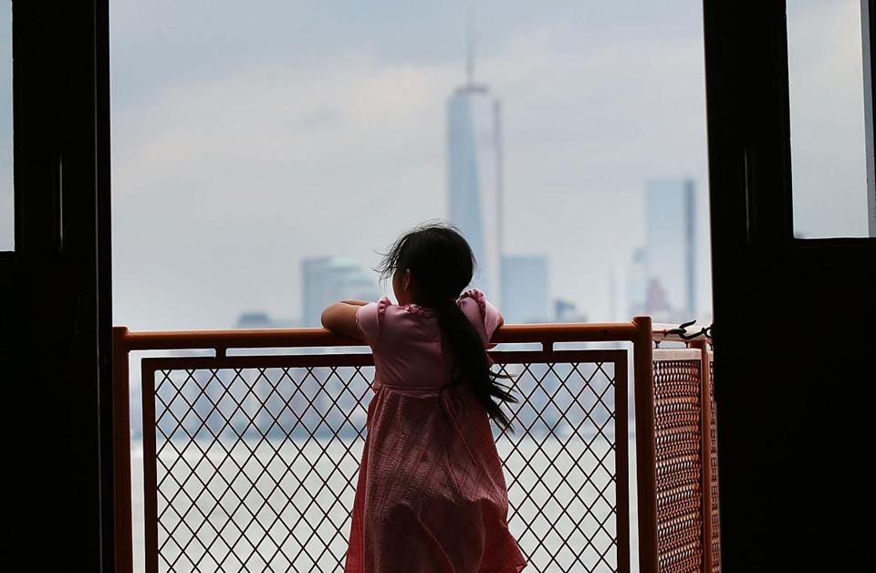 Mayor Michael Bloomberg outlined the plan on Tuesday to help guard New York City (seen from the Staten Island Ferry) from any future flood disasters.