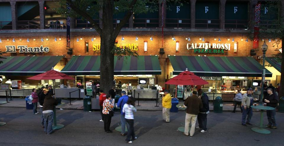 Since 2003, the Red Sox have been able to close part of Yawkey Way before home games to use the street as a ticket gate and food court.