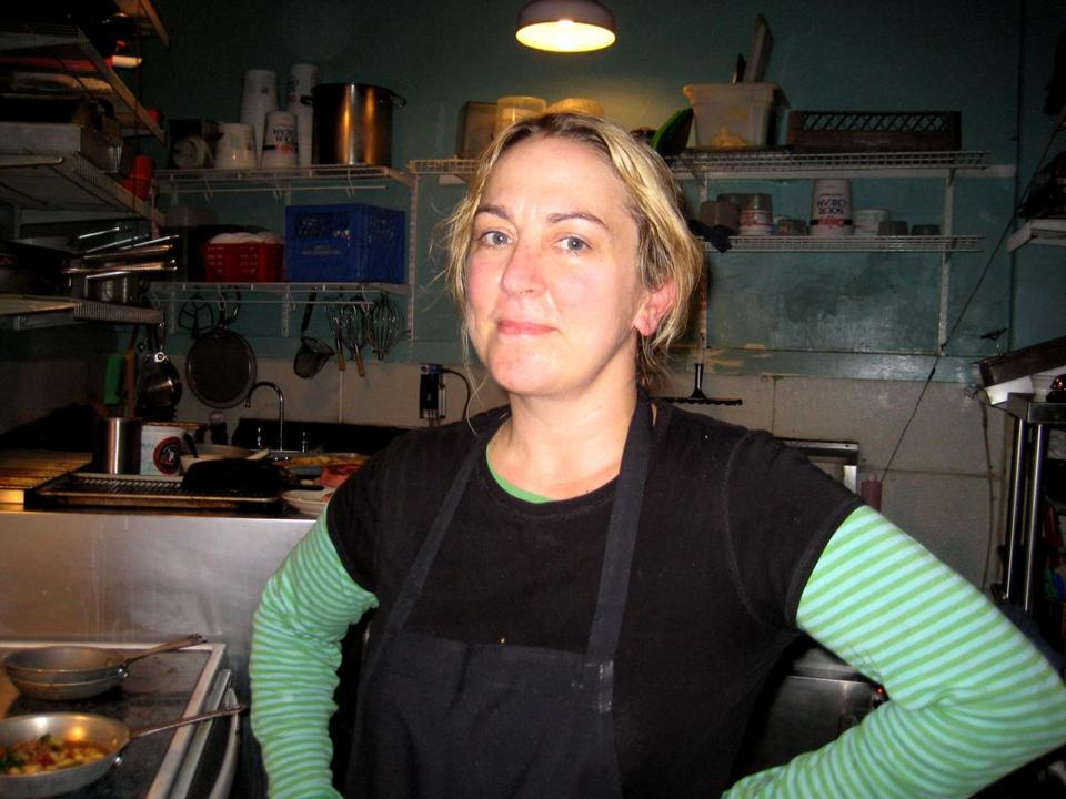 At Dinette in Seattle, Melissa Nyffeler, chef and owner, serves simple foods.