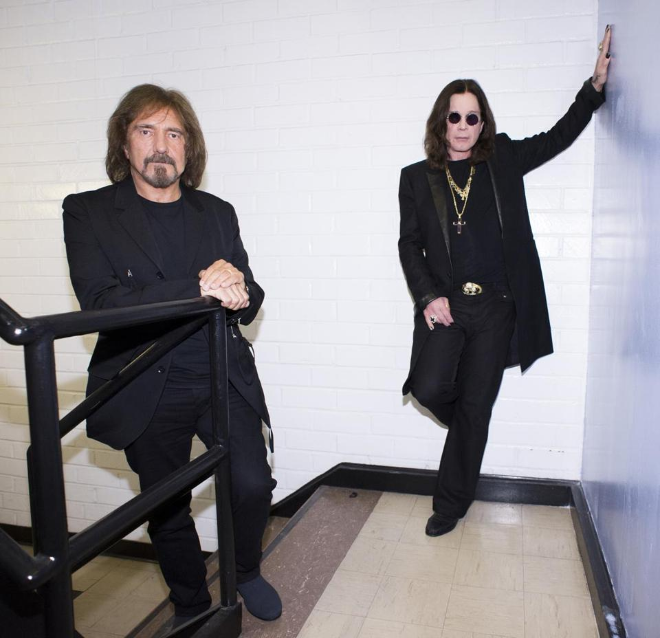"Singer Ozzy Osbourne (right) and bassist Geezer Butler of Black Sabbath. The band's new album, ""13,'' has echoes of Sabbath's early 1970s sound."