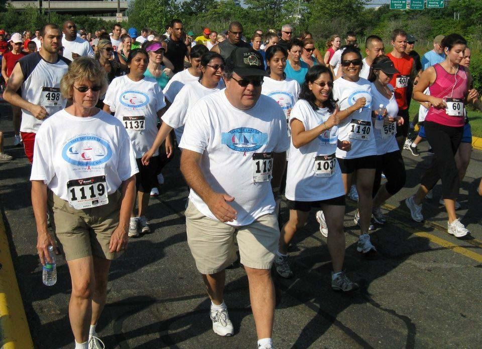 The 14th annual Take the Lake 5K in support of cancer survivorship is scheduled for June 30 at Lake Quannapowitt in Wakefield.