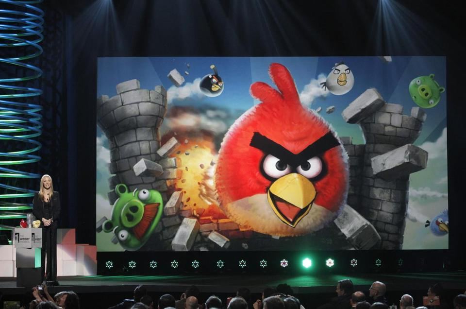 "The original ""Angry Birds"" mobile game was launched in 2009."