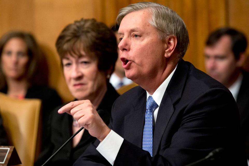 Senator Lindsey Graham helped write a bipartisan immigration bill under debate in the Senate.