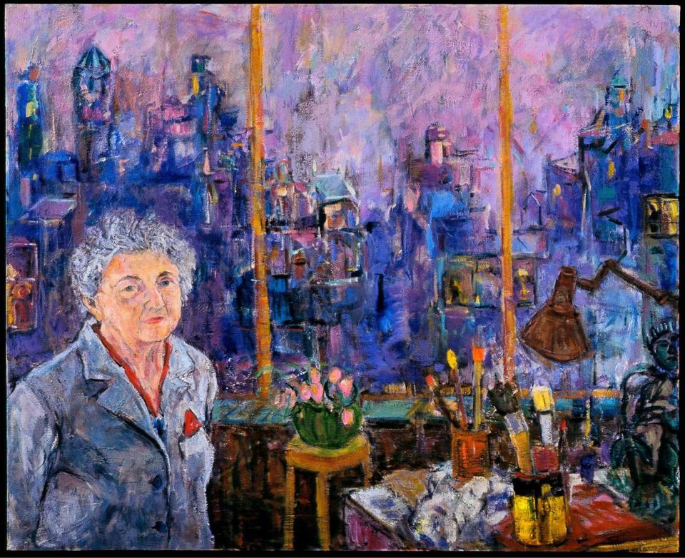 """Memory of Mother in Her Apartment at Dusk"" by Suzanne Hodes."