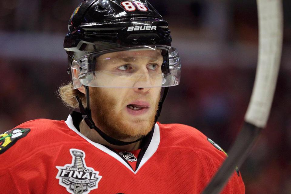 Patrick Kane says it's vital for the Blackhawks' power-play unit to build momentum.