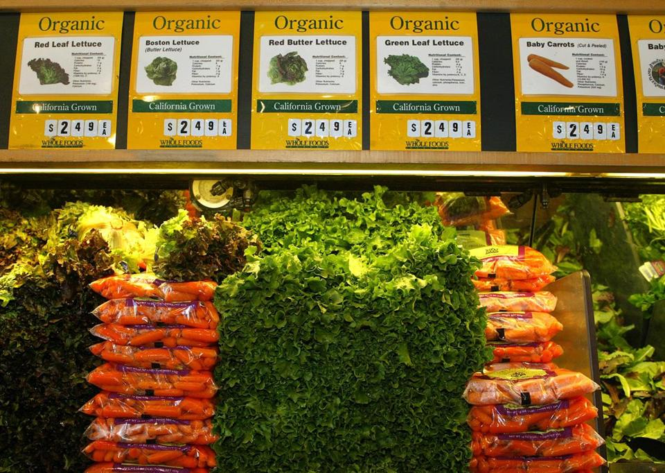 Whole Foods Market is known for its selection of organic groceries.