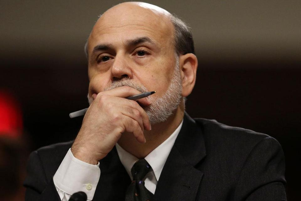 Ben Bernanke's second term as chairman of the central bank runs through the end of January.