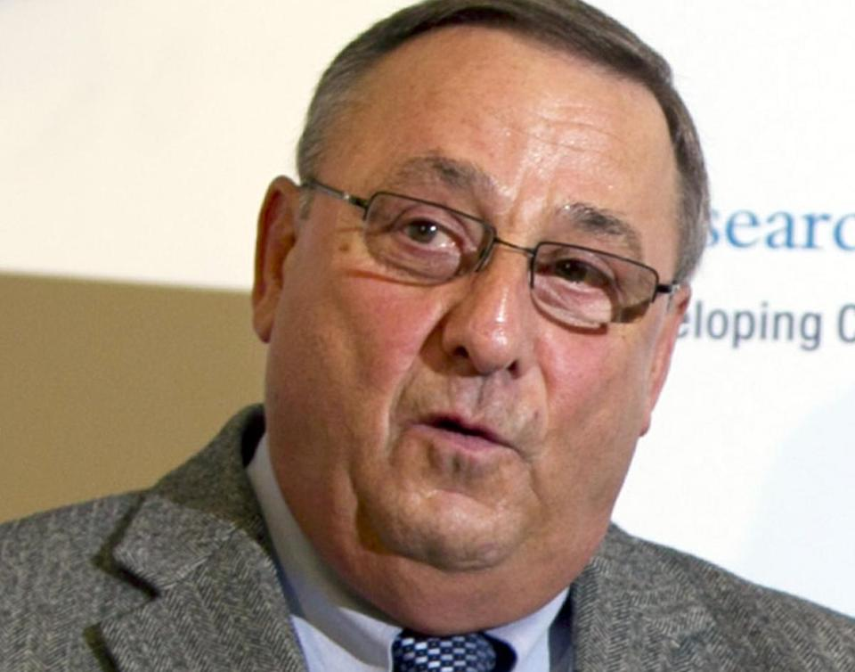 The governor of Maine, Paul LePage, is a Republican who was elected in 2010. He is known for speaking his mind, once comparing the IRS to the Gestapo, the Nazi's secret police force.