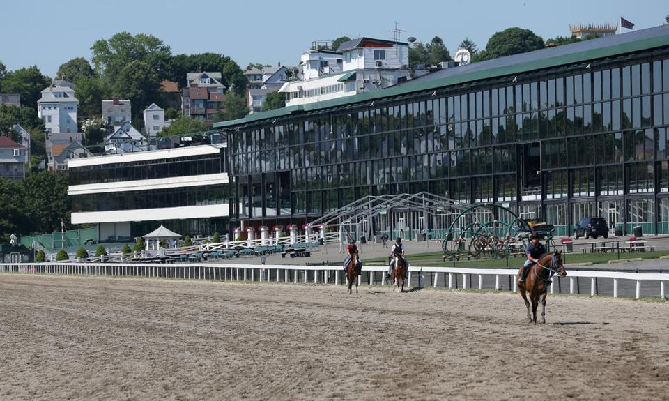 A proposed casino at Suffolk Downs in East Boston must be put to a vote. At issue is when and how wide a vote will be.
