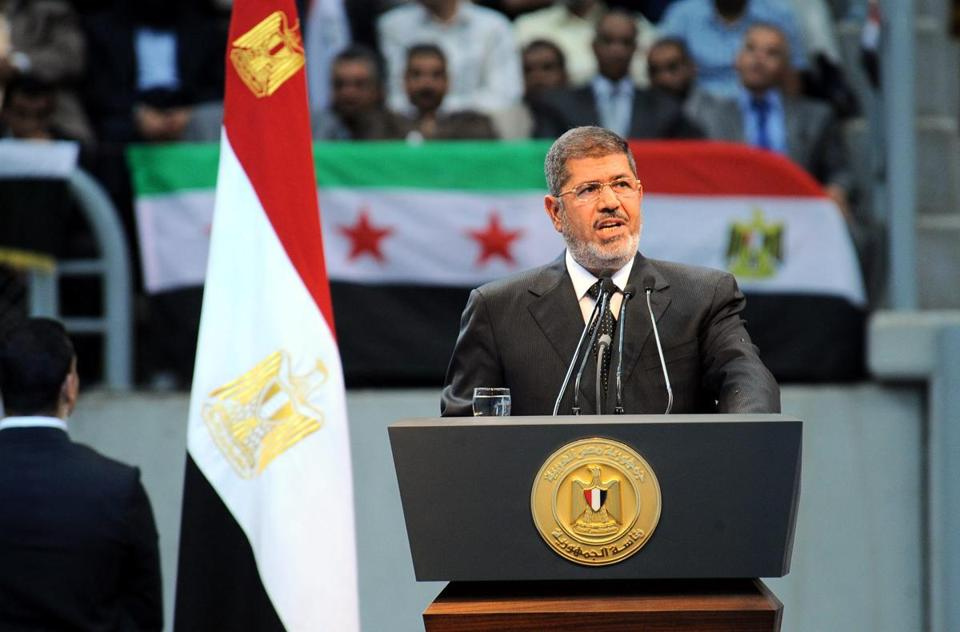 Mohamed Morsi soon will mark a year in power.