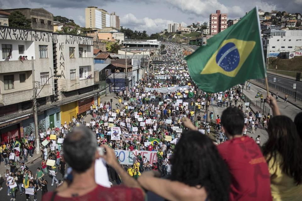 Demonstrators once again took to the streets in Brazil on Saturday, continuing a wave of protests that have shaken the nation and pushed the government to promise changes.
